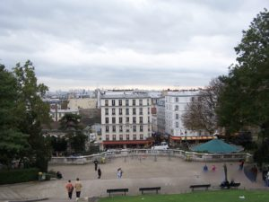 View from Sacre Coeur Basilica