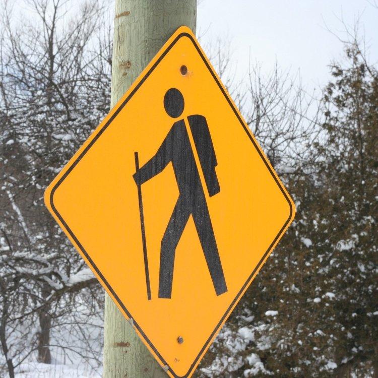 Hiker Sign